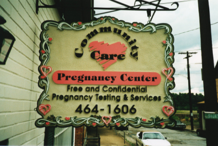 Community Care Sign